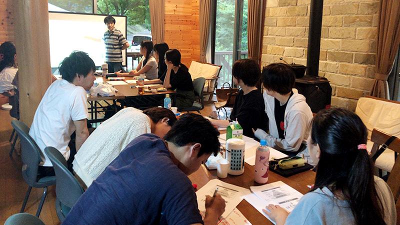 2019年8月3〜4日に社内研修「報連相研修」を実施しました@ふわり研修場(長野県塩尻市)
