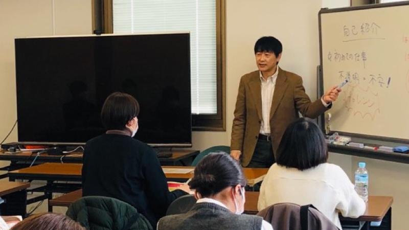 新入社員研修を実施しました@社会福祉法人むそう本部(愛知県半田市)